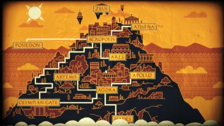 Apotheon - mapka świata