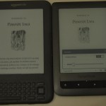 Oświetlenie ekranu e-ink 1/4