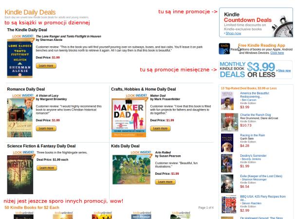 Promocji w amazon.com jest mnóstwo, ale prawdziwe perełki za dolara to rzadkość.