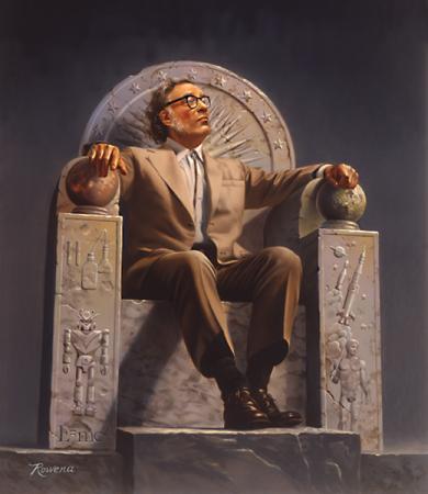 Skromna apoteoza Asimova (obraz Roweny Morill)