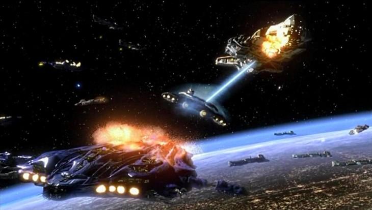 stargate battle